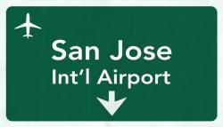 San Jose Airport graphic