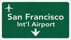 San Francisco Airport graphic