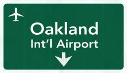 Oakland Airport Graphic