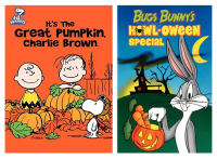 halloween cartoon PAC charlie brown and bugs