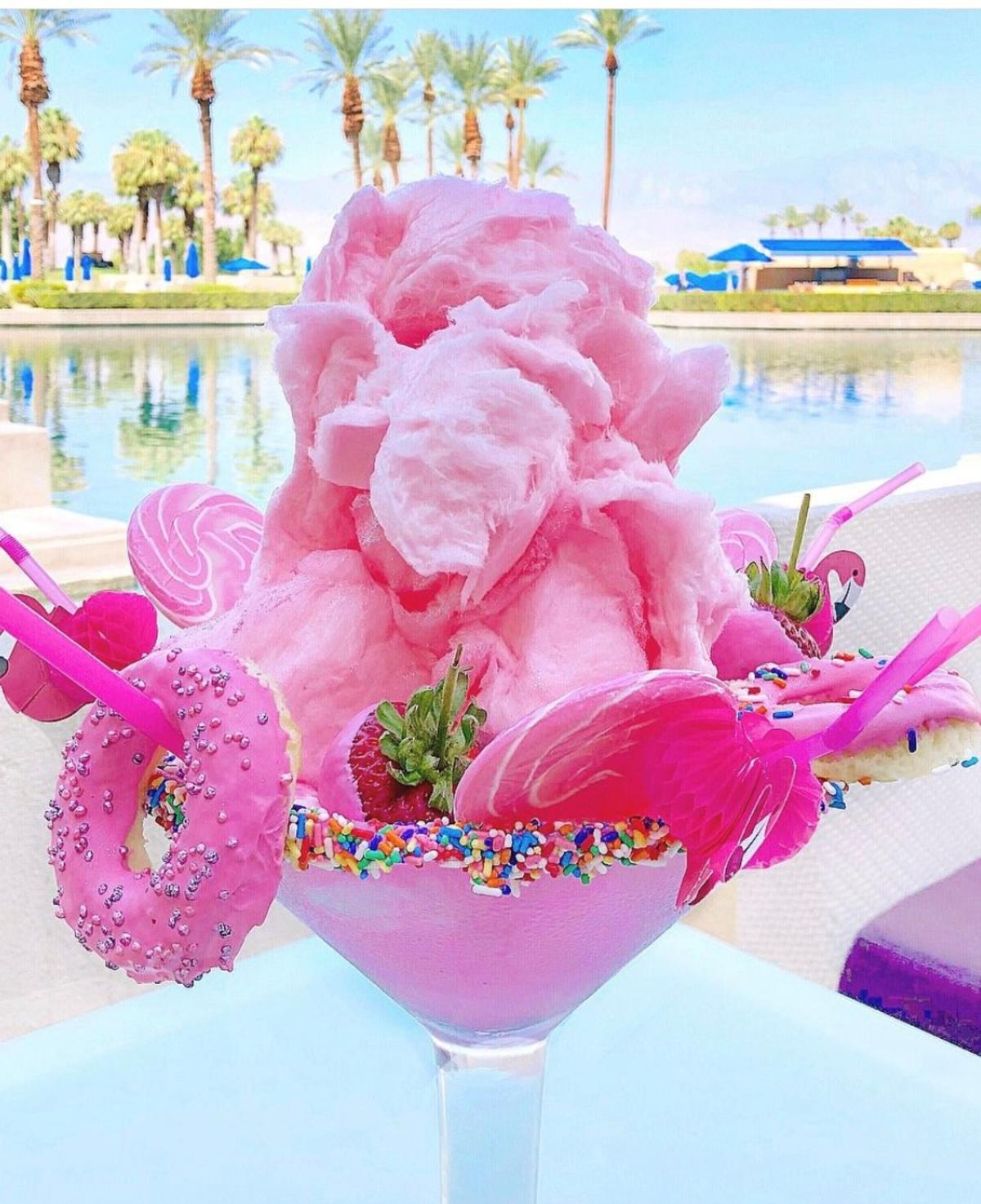 JW Marriott Pink Flamingo Shake