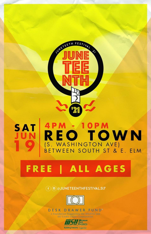 Juneteenth Festival 2021 REOTown