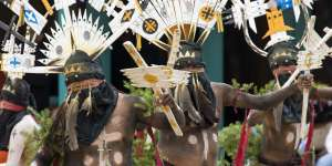 Mescalero Apache Traditional Ceremony