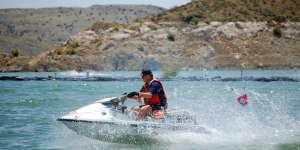 Elephant Butte Lake - Jetski