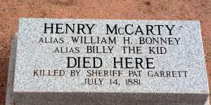 Fort Sumner, Billy the Kid Grave