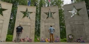 The Alaska Veterans Memorial is in Denali State Park.