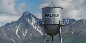 Puzzle - Palmer Water Tower