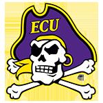 East Carolina University Pirates logo