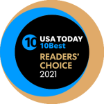 USA Today 10Best Readers' Choice 2021