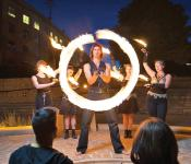 Fire Dancers at The Forks