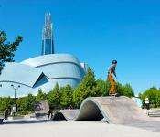 Skateboard Park, The Forks