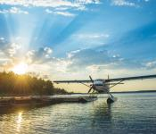 Coming in for a Landing, Fly-in Fishing Adventure