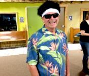 Bob McCoy enjoying his P.T.EAU.