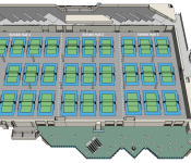 3D Sports Floor Plans