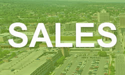 """""""Sales"""" on Green Background"""