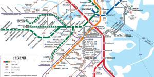 MBta-map