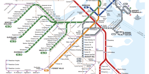 t train boston map Getting Around Boston Boston Transportation t train boston map