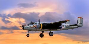 American Airpower Museum B-25 Mitchell Bomber