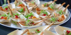 Food Samples as taste-of event, Food That Rocks