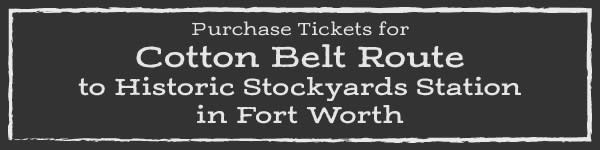 Cotton Belt Route - Purchase Tickets