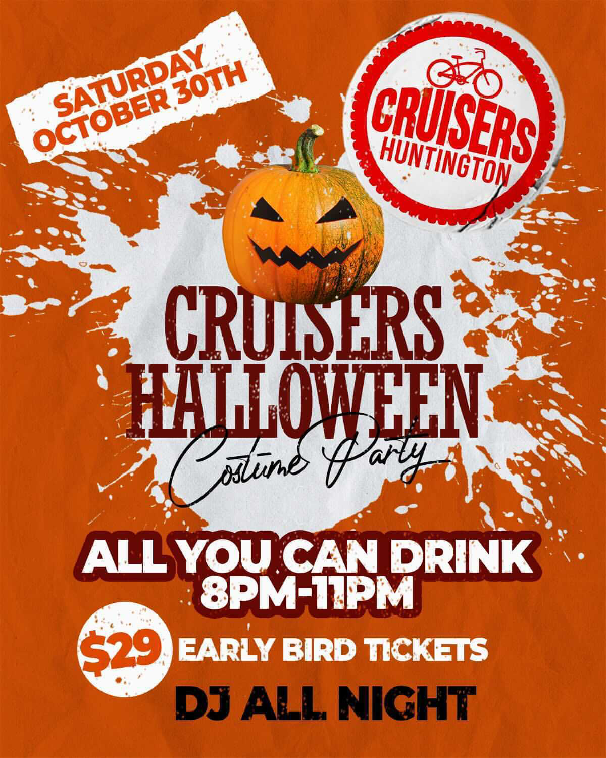 Cruisers Halloween Party 2021
