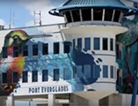 Harbormaster Tower Mural at Port Everglades