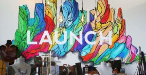 Launch Mural Houston Chronicle