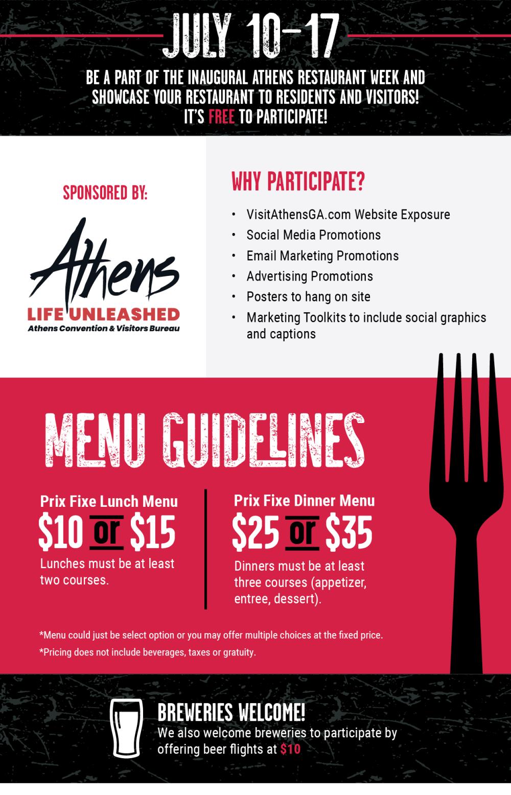 ARW Restaurant promo no deadline