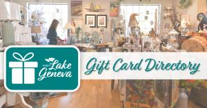 Lake Geneva Gift Card Directory