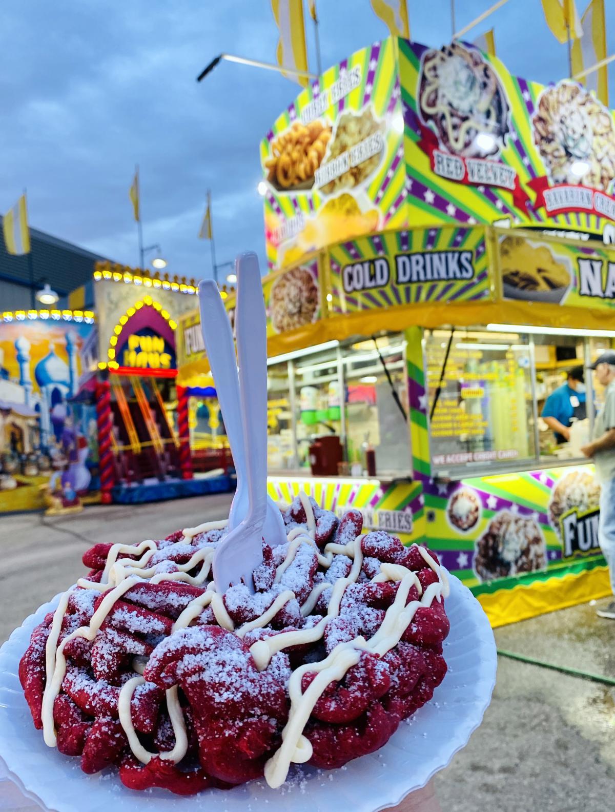 funnel cake setx fair