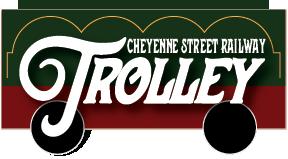 Cheyenne Street Railway Trolley Logo