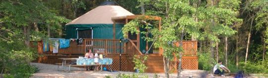 Pinchot Yurt