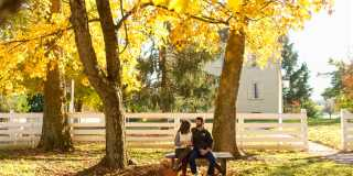 Fall at Shaker Village