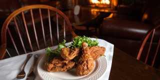 Southern Fried Chicken at Merrick Inn