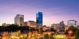 Lexington Skyline at Twilight