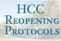 HCC Reopening Protocols