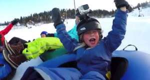 Park City First Timers: Snow Tubing