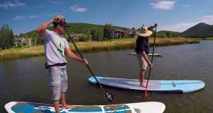 Park City First Timers: Stand Up Paddleboarding