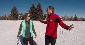 Park City First Timers: Skate Skiing