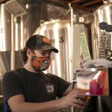 Bartender at Carolina Brewery