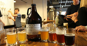 Corcoran Growler Picture - Reston Limo Brewery Tours