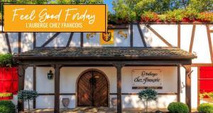 Feel Good Fridays: L'Auberge Chez Francois