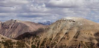 Bald Mountain in Uinta National Forest