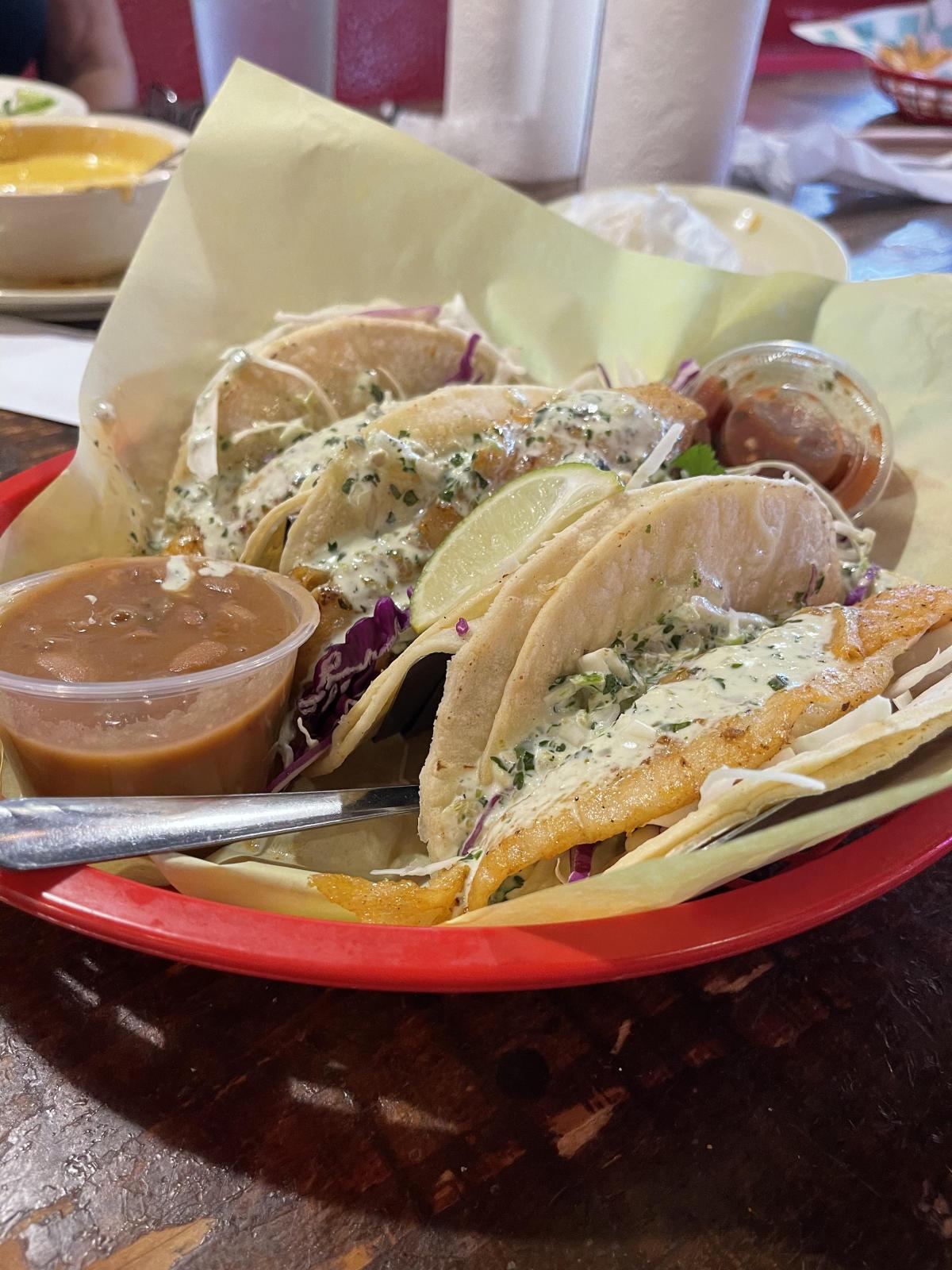tia juanitas fish tacos in Beaumont, TX