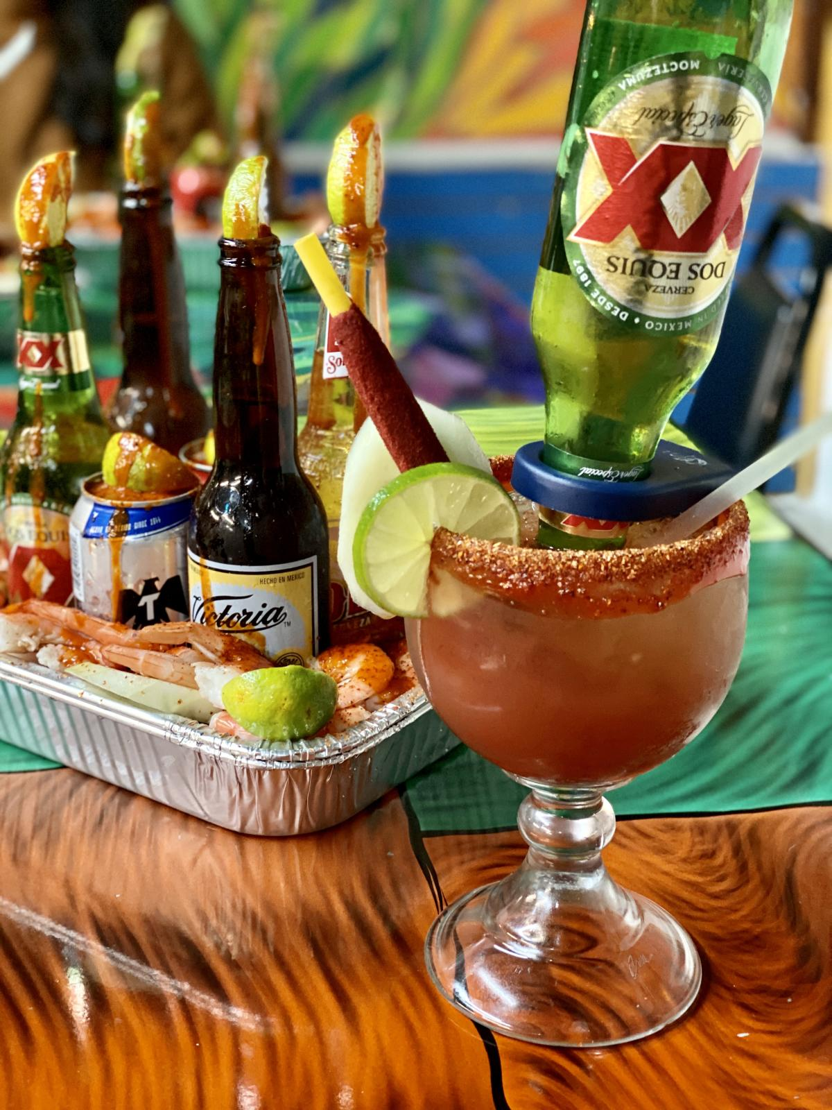 Food and Drinks From Tacos La Bamba In Beaumont, TX