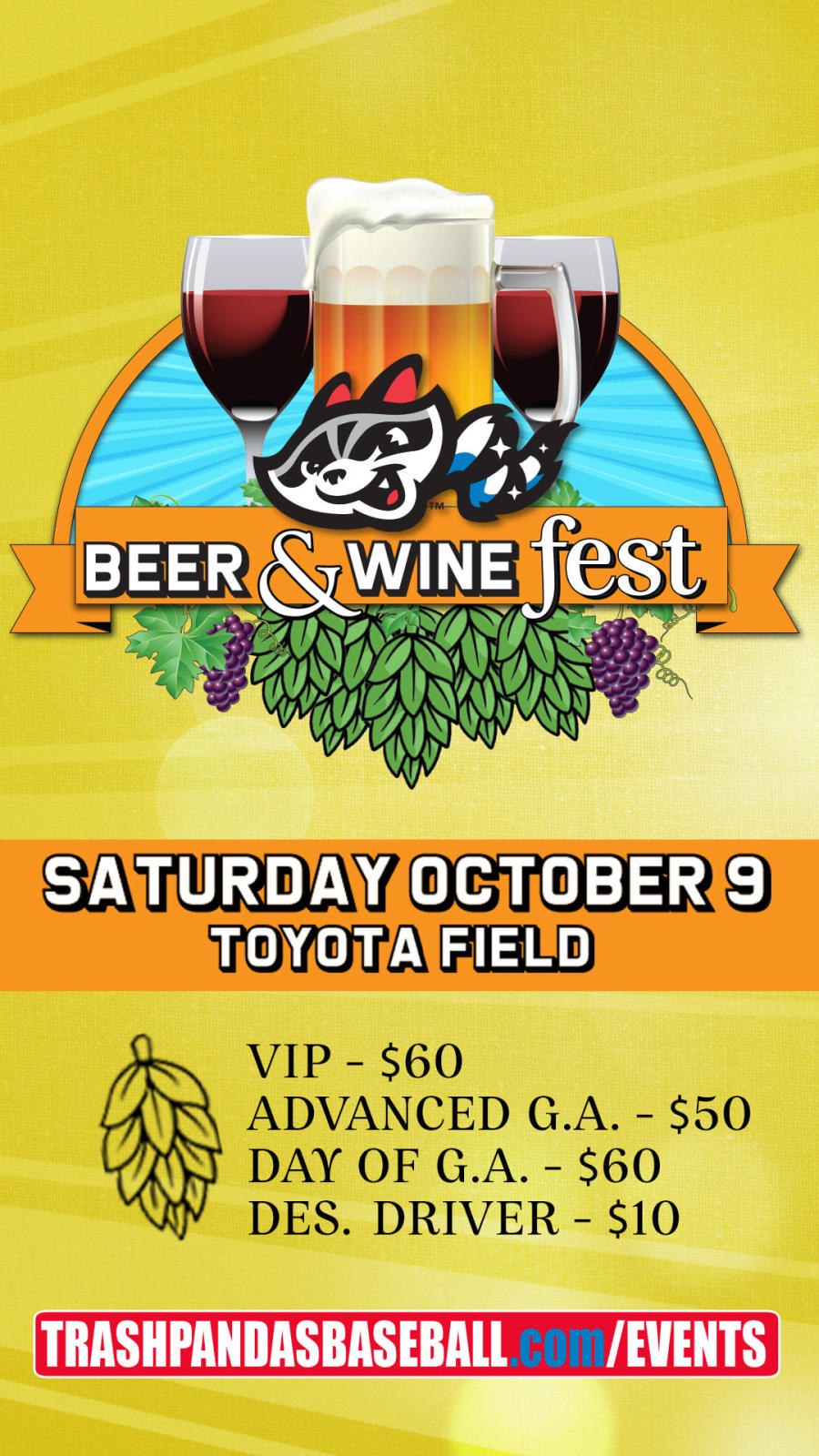 Beer and win fest toyota field