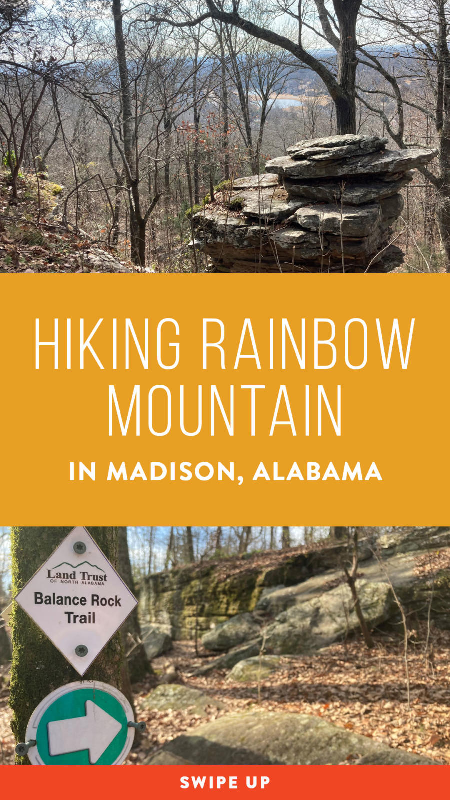Hiking Rainbow Mountain Pin