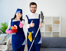 cleaning vacation rental