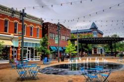 Old Town Square Splash