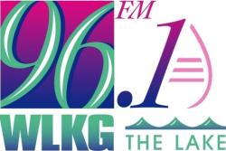 WLKG 96.1 Logo